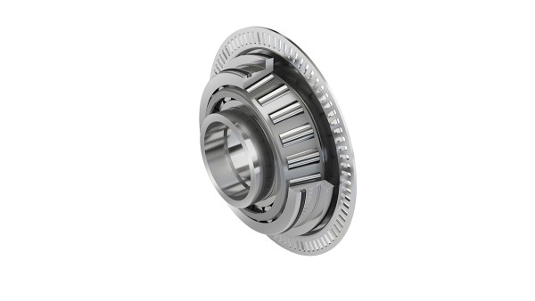 Tapered roller bearing with pulse ring