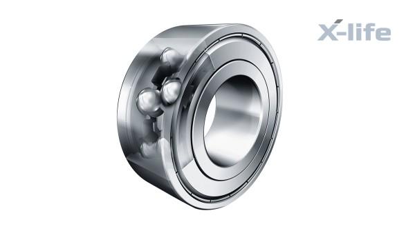 Rolling bearings and plain bearings: Double-row angular contact ball bearings