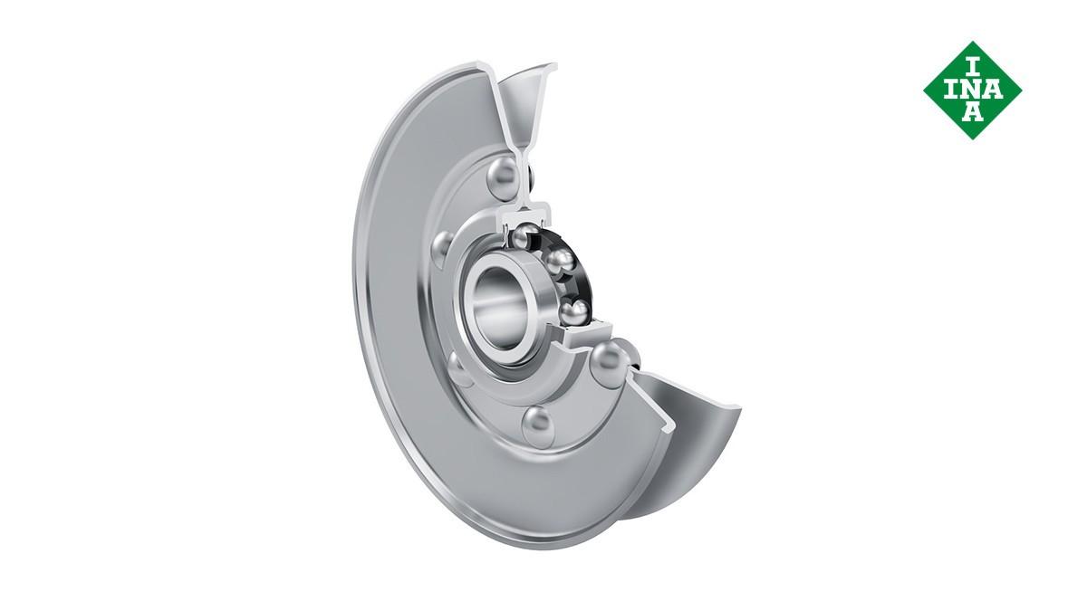 Schaeffler rolling bearings and plain bearings: Belt tension pulleys